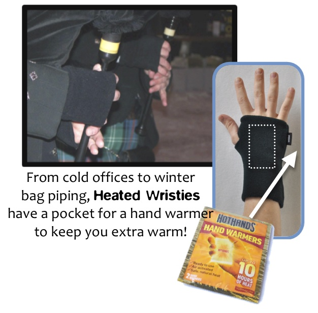 Heated Wristies