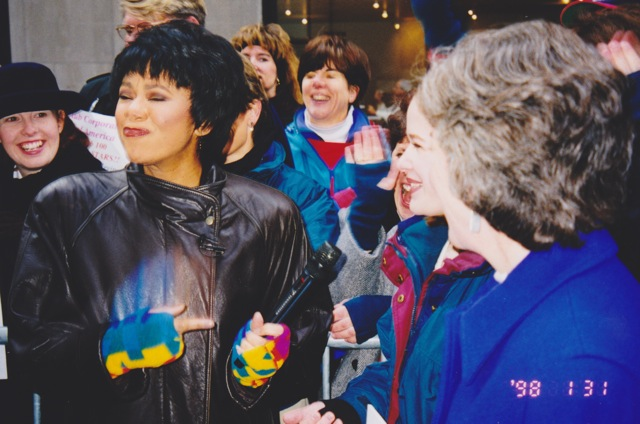 KK at the Today Show 1998