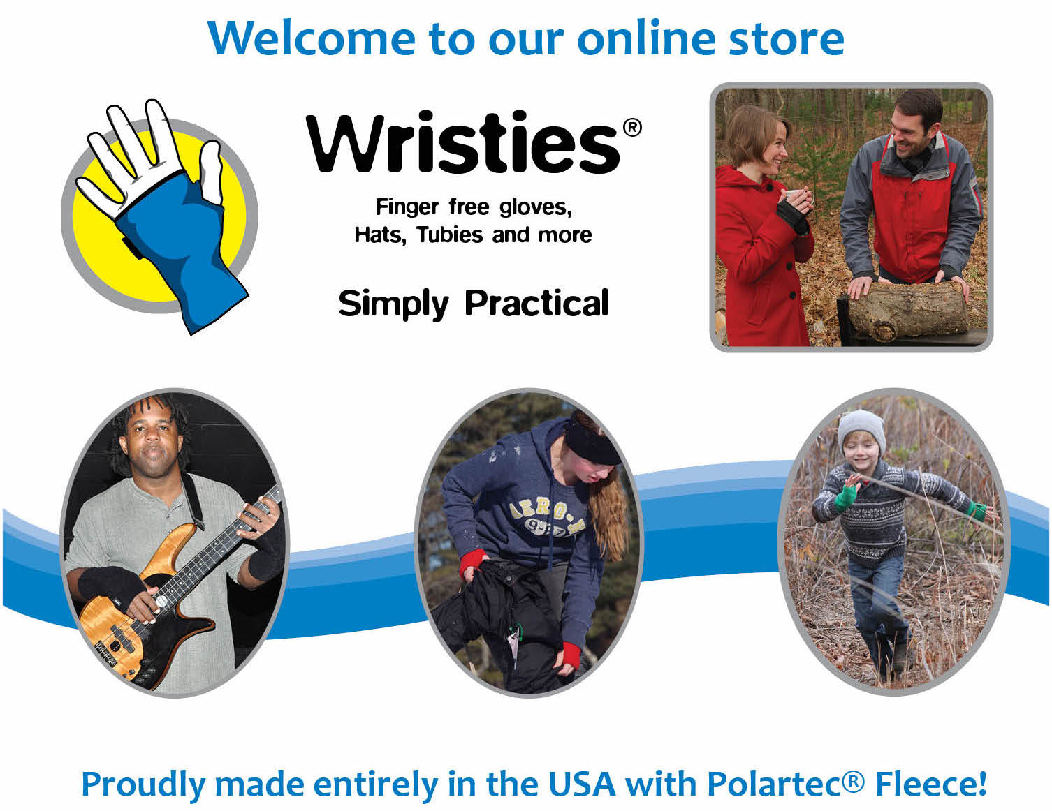 Wristies® - fingerless gloves, glove-liners, Sleeves, and so much ...